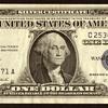 1957 A - U.S. $1 Silver Certificate