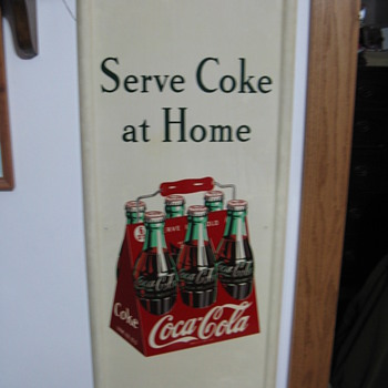 1948 and 1950 sign - Coca-Cola