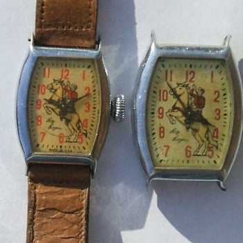 1951 and 1954 Roy Rogers Watches - Wristwatches