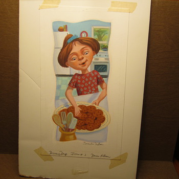 "Donna Nelson ""Primary Days"" Issue #2..... Pastel"