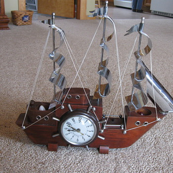 1960's Sessions-United Boat Clock - Clocks