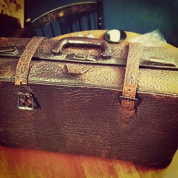 Walrus Skin Suitcase - Bags