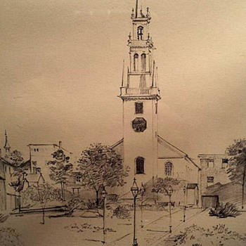 Richard Grosvenor-Trinity Church - Visual Art
