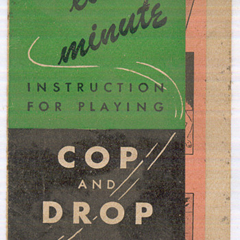 cop and drop game