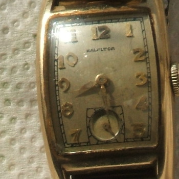 "Vintage 1945-46 Hamilton ""ALAN"" - Wristwatches"