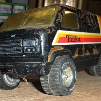 old tonka van