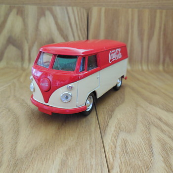 Toy VW COMBI Solido Made In France - Model Cars