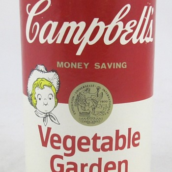 Campbell's Vegetable Garden Bank - Advertising