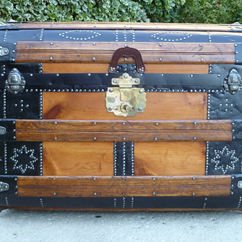 My Latest Trunk 1873 Romadka Bros. Travel Trunk - Furniture