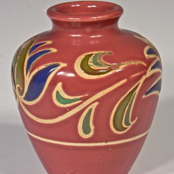 Austrian or German Pottery Vase?