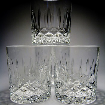 JIM O'LEARY 1944-2013 - Glassware