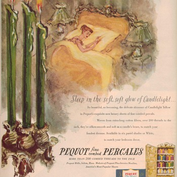 1950 Pequot Advertisements