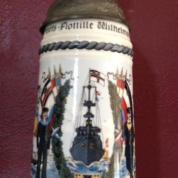 What is it ? Military Stein I purchased at an estate sale I would like to know more about