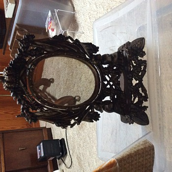 German Table Mirror