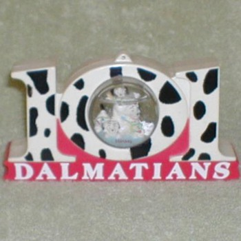 101 Dalmatians Christmas Snowdome - Advertising
