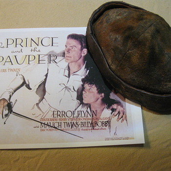 The Prince And The Pauper  .  .  . 1937 Production Hat - Movies