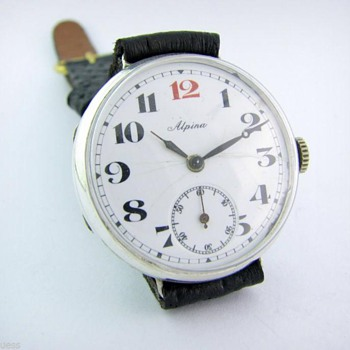 Alpina WW1 Tranch Watch - Wristwatches
