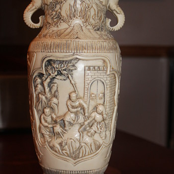 Vase with Elephant handles