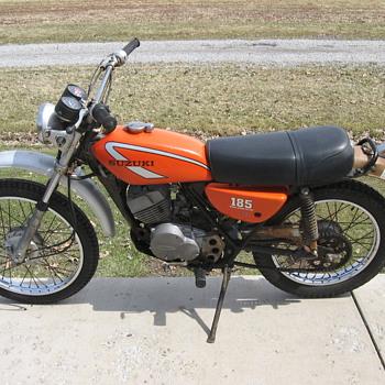 1975 Suzuki TS185 enduro