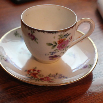 Limoges tea cup and Saucer