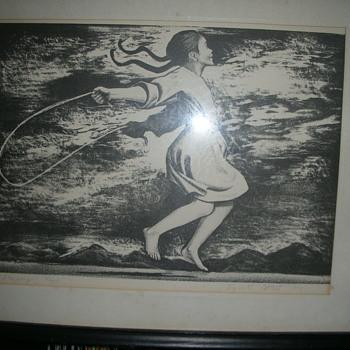 "Elizabeth Catlett ""Skipping Rope"" Print"