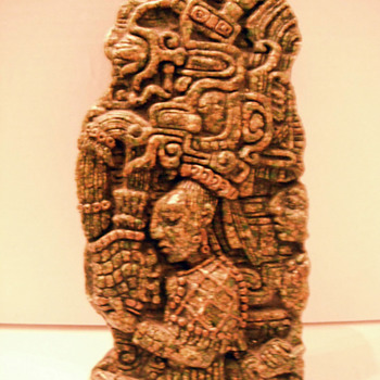 Aztec? Mayan? piece - Folk Art