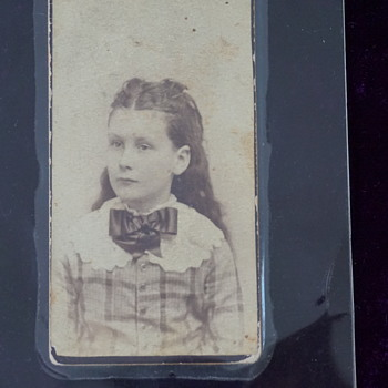 Picture of Great-Grandmother in 1887