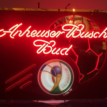 Anheuser Busch Bud Neon Sign