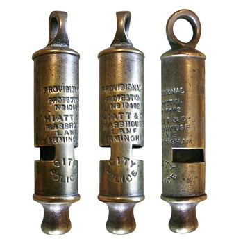 Brass whistle - Tools and Hardware