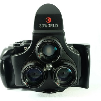 3D World Medium Format Stereo Camera Model TL120-1
