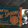 Metal Picnic Spoons