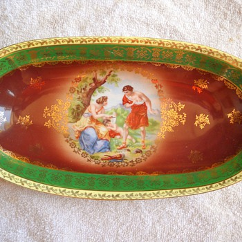 Bavaria Portrait Celery Dish - China and Dinnerware