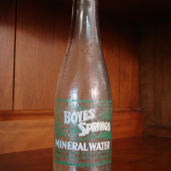 Boyes Springs Mineral Water