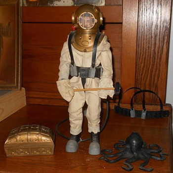 GI Joe 1965 Deep Sea Diver