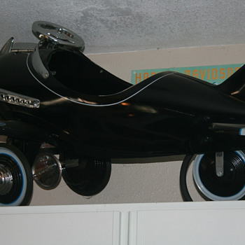 Airplane pedal car and custom car