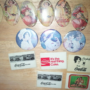 pocket mirrors - Coca-Cola