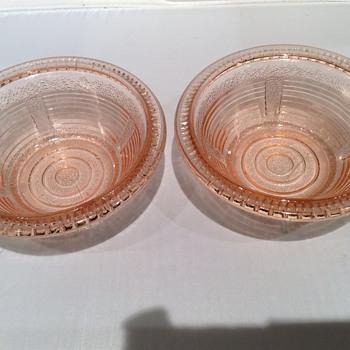 Vintage glass - Glassware