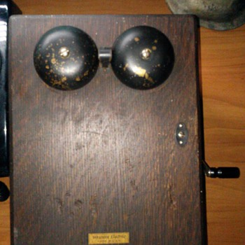 My Western Elecetric ringer Box - Telephones