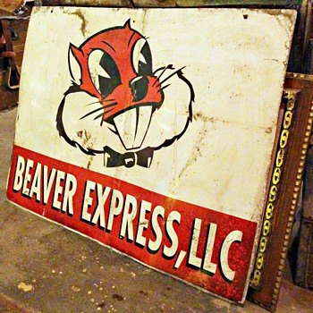 Beaver Express LLC Sign