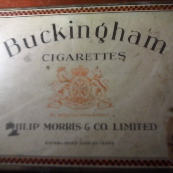 Tuckett Tobacco Company (Buckingham) Tin
