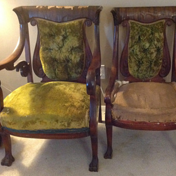 Antique? - Male and Female Chairs