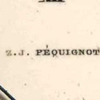 Is watch maker Z. J. Pequignot from Philadelphia rare?