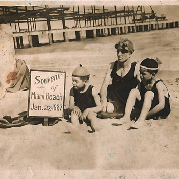 Fun at the Beach, circa 1927 - Photographs