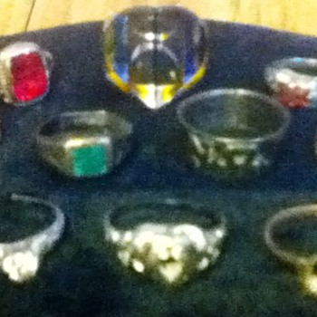 Assortment of Rings - Costume Jewelry