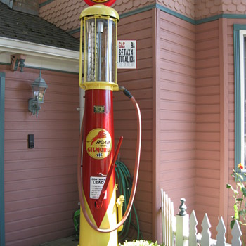 Wayne visable gas pump