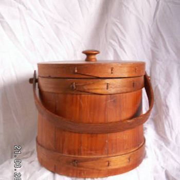 Vintage Firkin/Sugar Bucket  - Furniture