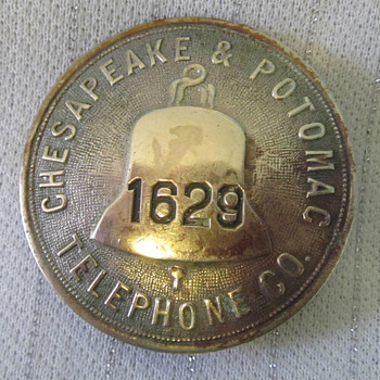 Chesapeake & Potomac Telephone Badge
