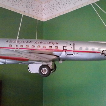 Old airplane early 1960's - Model Cars