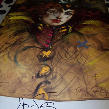 Wizard #1 signed poster ? Anyone know what this is from?