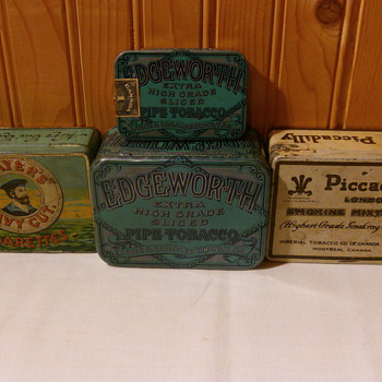 My Favourite Tins - Tobacciana